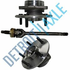 Dodge Ram 1500 Left  2000 - 2001 Axle Shaft + 2 Wheel Bearing  hub 4X4 Rear ABS