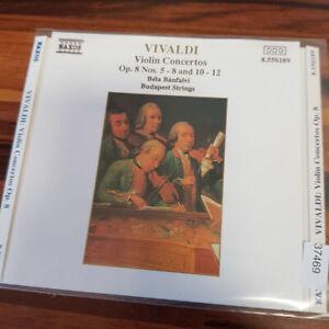 BUDAPEST STRINGS / BELA BANFALVI : Vivaldi - Violin Concertos    > VG (CD)