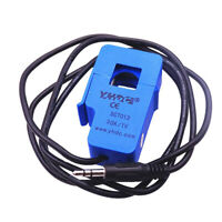 SCT013 6000V AC/1min 30/50/100A Split Core Current Sensor Transformer Anti-flame