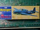 "Guillows TBF AVENGER U.S. NAVY Fighter 16.5"" wingspan"