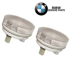 For BMW E85 E86 Z4 Set of 2 Front White Additional Turn Signal Lights Assy OES
