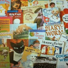 Bulk Lot of 24 Children's Books: Teachers Parents Back to School, Ages 4-10, PBs