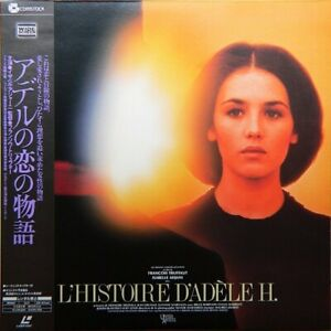 HISTOIRE D'ADELE H (L') CLV N&S FRENCH/JAPAN SUBT. NTSC LASERDISC WITH OBI