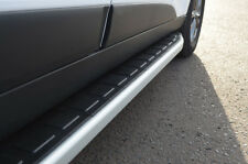 BARRE di alluminio laterali passi Pedane per adattarsi CHEVROLET CAPTIVA (2006+)