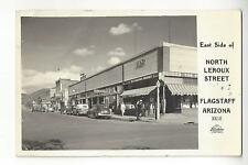 1946 Flagstaff, Arizona, North Leroux Street RPPC