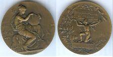 Médaille de table - Touring Club de France Pierre BRARD par Alphée Dubois d=50mm