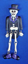 SVENGOOLIE SKELETON Lapel PIN As WORN by~RARE Jointed in Tuxedo FREE SHIP