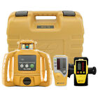 Topcon RL-H5B Construction Rotary Laser Level W/ LS-80L Receiver & LD-8 Detector