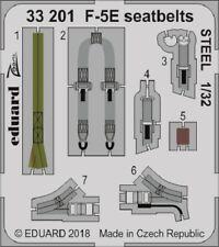 Eduard Zoom 33201 1/35 Northrop F-5e Tiger Cinture sedili acciaio Kitty Hawk