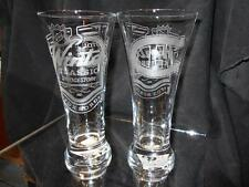 2016 NHL SPECIAL EDITION WINTER CLASSIC MONTREAL CANADIENS ETCHED PILSNERGLASSES