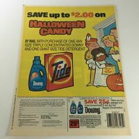 VTG Retro 1985 Downy / Tide / Halloween Candy By Mail Only Print Ad Coupon