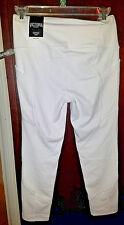 Victorias Secret Sport WHITE High Rise Knockout Capri Pocket Pant S Crop VSX NWT
