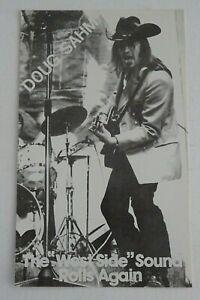 DOUG SAHM THE WEST SIDE SOUND ROLLS AGAIN c.1983 PROMOTIONAL PHOTOGRAPH FLYER