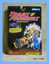 "TRANSFORMERS ROTORBOTS "" Hot Foot "" MOSC HASBRO 1993"
