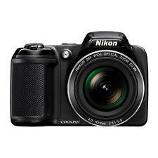Nikon Coolpix L340 20.2 MP Digital Camera 28x Optical Zoom Black