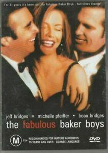 Fabulous Baker Boys DVD 1989 Jeff Bridges Michelle Pfeiffer Movie - AUSTRALI