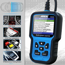 Automotive All System OBD2 Diagnostic Scanner ABS EPB SAS SRS TPMS Reset for BMW