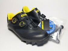 New Mavic Crossmax SL ultimate Cycling shoe BLK/Yellow Unisex Size (M 7 / W 8)