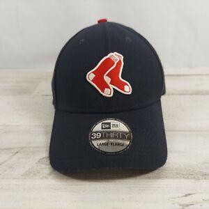 Boston Red Sox New Era Alt Team Classic 39THIRTY Flex Hat - Navy/Red Large/XL