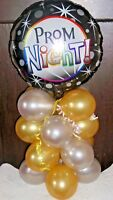 "18"" FOIL BALLOON TABLE DECORATION DISPLAY - PROM - AIR FILL NO HELIUM"