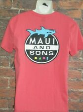 MENS MAUI AND SONS CORAL T-SHIRT SIZE M