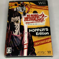 No More Heroes 2 Desperate Struggle Limited Collectors Hopper's Edition Wii