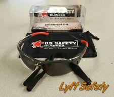 Safety Glasses Mcr Tint Shooting Eye Protection Anti-Scratch Work Eyewear Black