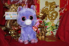"""Ty Beanie Boos Athena Unicorn.Medium~9"""".Cl aire'S Exclusive.2018.Mwnmt.Nice Gift"""