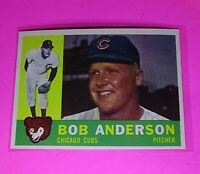 1960 Topps #412 Bob Anderson Chicago Cubs NmMt High Grade Sharp!