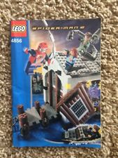 Lego 4856 Spiderman Doc Ock's Hideout Manual Instructions Booklet Guide ONLY