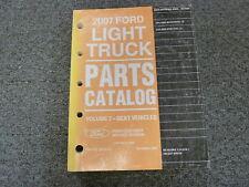 2007 Ford Explorer SUV Parts Catalog Manual XLT Eddie Bauer Limited 4.0L 4.6L