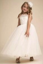 NEW BHLDN Dessy Marquis Skye Flower Girl Dress Size 6