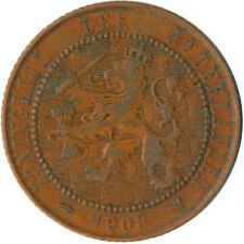 COIN / THE NETHERLANDS / 2 1/2 CENT 1908  #WT5790