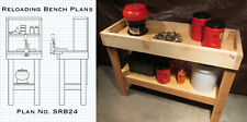Reloading Plans 2-Pack – Small Reloading Bench and Brass Cleaning Bench Plans