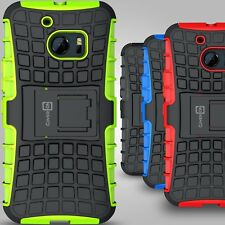 For HTC 10 Case Hard Hybrid Slim Protective Kickstand Phone Cover