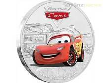 2 $ Dollar Disney Pixar Cars Lightning McQueen Niue Island 1 oz Silber 2017