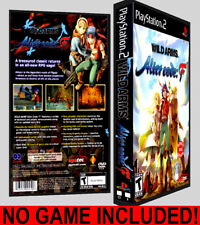 Wild ARMs Alter Code:F - PS2 Reproduction Art DVD Case No Game