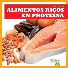 Alimentos Ricos En Proteinas = Protein Foods Vida Sana = Healthy Living Spani