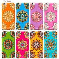 Custodia Cover Design Fiori Mandala Per Apple iPhone 4 4s 5 5s 5c 6 6s 7 Plus SE