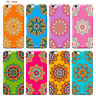 Custodia Cover Design Fiori Mandala Per Apple iPhone 4 4s 5 5s 5c 6 6s 7 Plus SE