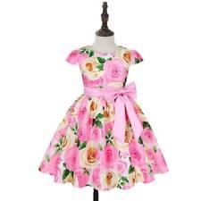 Vestidos De Niñas Con Flores Tutu Vestido Fiesta Princesa Bebé Niño Boda Dama De Honor Formal
