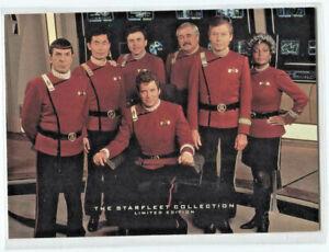 1993 SKYBOX/PARAMOUNT * STAR TREK STARFLEET COLLECTION * PROMO  CARD #5/6 * RARE