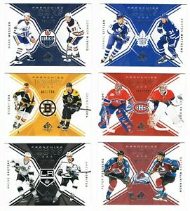 2018-19 SP Authentic Team Franchise Icons #/199 FI Pick From List
