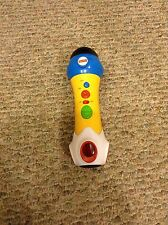 Fisher Price Rappin Recording Microphone With Lights & Sounds EUC