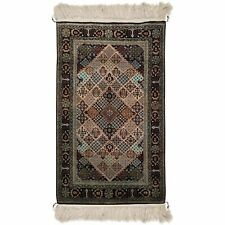 2'7 x 4'5 Pure Silk Hand-Knotted Rug