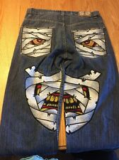 Evolution In Design Jeans Men's Size 36 x 34 Baggy Loose Hip Hop Skater