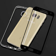 Easy Install Screen Protector+Protective Case f Samsung Galaxy S7 G930T T-Mobile