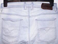 Diesel Sleenker Slim-Lavado De Jeans Skinny Fit 0829I W31 L34 (a2412)