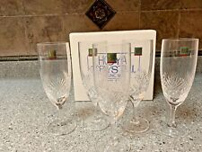 HOYA  Crystal Champagne Flute Set (New w/ Tags) Imported from Tokyo, Japan