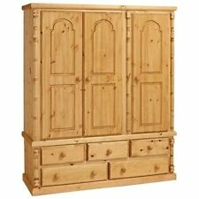 Handmade without Assembly Required Wardrobes with 3 Doors